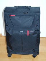 Spinner Luggage Suitcase Black (used 1x to Swiss,therefore like NEW) 68x42cm in Wiesbaden, GE