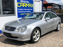 2003 MERCEDES-BENZ CLK ELEGANCE COUPE in Spangdahlem, Germany