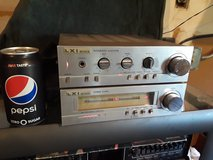 Vintage LXI Integrated Stereo Amp and Tuner in Joliet, Illinois