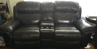 Bonded Leather Recliner Loveseat / Sofa / Couch in Camp Lejeune, North Carolina