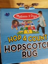Melissa and doug hopscotch rug new in box in Plainfield, Illinois