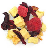 Raspberry Herbal Tea Custom Private Label made from Apple Pieces HIbiscus Cranberries and Raspbe... in Kingwood, Texas