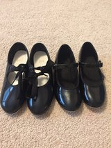Girls tap shoes size 9 and 10.5 in Oswego, Illinois