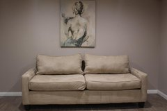 Cream Couch in Kingwood, Texas