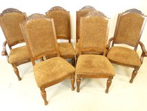 Seashell Carving Dining Room Chairs in Pasadena, Texas