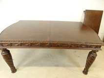Solid Wood Table with Extension Leaf in Pasadena, Texas