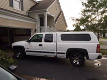 Truck and Cap - 2002 Silverado 1500 Extended Cab in Oswego, Illinois