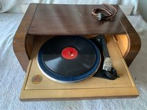 old german record player in Ramstein, Germany