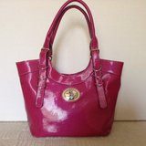 "NEW-Shoulder tote by  ""US POLO ASSN."" in magenta color -100% Vegan leather in Yucca Valley, California"
