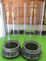 2 Hurricane Candle Holders in Chicago, Illinois
