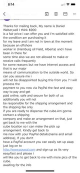 *BEWARE OF PAYPAL SCAMMERS* in Okinawa, Japan