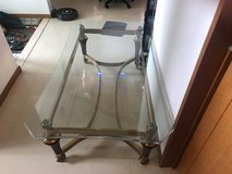 2 Glass tables $75 each in Okinawa, Japan