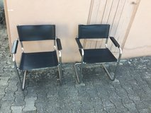 2 cantilever chairs in Ramstein, Germany