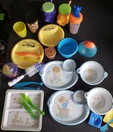Baby Toddler Boys or Girls Sippy Cups Plates Lot in Fort Campbell, Kentucky