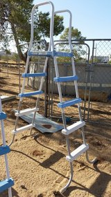 Tall Pool Ladder in Yucca Valley, California
