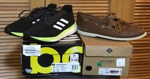 Adidas response Boost/ Sperry Top Siders in Okinawa, Japan