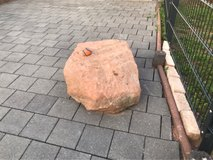 Landscape-Quality Red Sandstone Rock in Ramstein, Germany