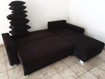 Couch + Bed/Storage + Delivery included! in Ramstein, Germany