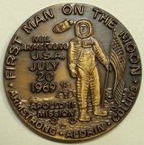 "Appollo 11 ""First Man on the Moon"" Token Langley AFB Virginia 1969 in Cary, North Carolina"
