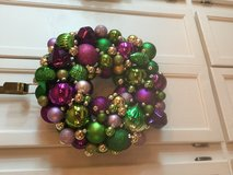 Holiday/Christmas Wreath Handmade Assorted Colors in Wilmington, North Carolina
