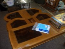 Set of Four Glass Top Tables in Fort Riley, Kansas