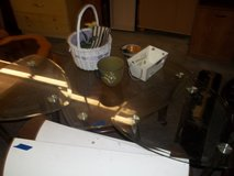 Three Piece Set of Glass Tables in Fort Riley, Kansas