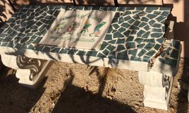 Cement Bench in 29 Palms, California