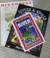Rivers and Spires and River Fest Posters in Fort Campbell, Kentucky