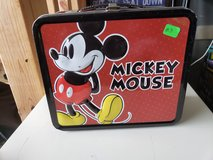 Vintage Mickey Mouse Metal Lunchbox in Fort Campbell, Kentucky
