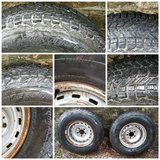 TWO WINTER FORCE STUDLESS TIRES FOR 82-87 CHEVY & GMC C10-C1500 in Kansas City, Missouri