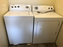 whirlpool washer and dryer combo in Okinawa, Japan
