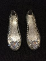 Kids Cinderella Silver Dress Up Costume Shoes  - Sz. 9-10 in Westmont, Illinois