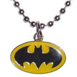 Batman Classic Logo Necklace in Camp Lejeune, North Carolina