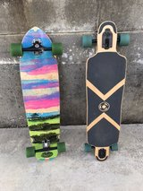 2 longboards, used but ride well in Okinawa, Japan