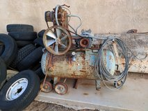 old compressor in Yucca Valley, California