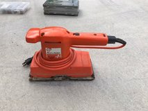 Dual action sander in Okinawa, Japan