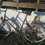 Nice old Bike from the 80s in Ramstein, Germany
