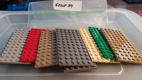 10 Lego 6 x 12 Plates Group 34 in Naperville, Illinois