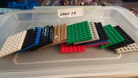 18 Lego 6 x 8 Plates Group 49 in Naperville, Illinois