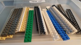 23 Lego 2 x 16 Plates Group 55 in Naperville, Illinois