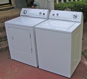Washer Dryer Set-by Whirlpool -Large tub in Warner Robins, Georgia
