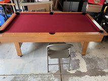 pool table & ping pong combo set in Aurora, Illinois