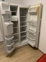 side by side Refrigerator freezer in Ramstein, Germany