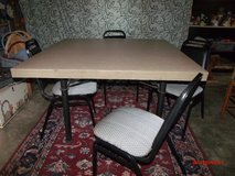 Table and 4 Chairs   $95      Adel in Moody AFB, Georgia