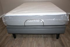 Full Size Adjustable base with MASSAGE and New Memory Foam Mattress in Kingwood, Texas