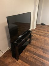 55' tv / tv stand / sound bar in Camp Pendleton, California