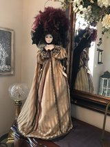 Victorian Doll on stand in Houston, Texas