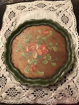Hand painted Wooden Plates in Ramstein, Germany
