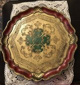 Florentine Wooden Tray in Ramstein, Germany