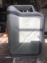 1952 US GI Jerry Can conversion in Camp Pendleton, California